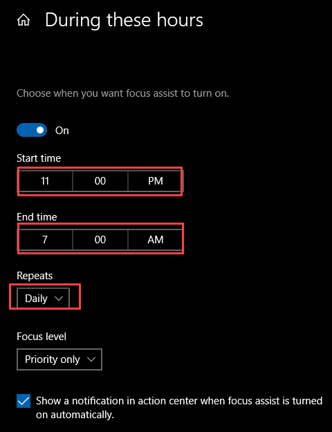 , 3 Ways to Enable Focus Assist in Windows 10