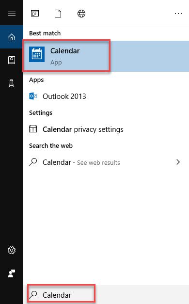 , How to use the Google Calendar in Windows 10 Calendar App