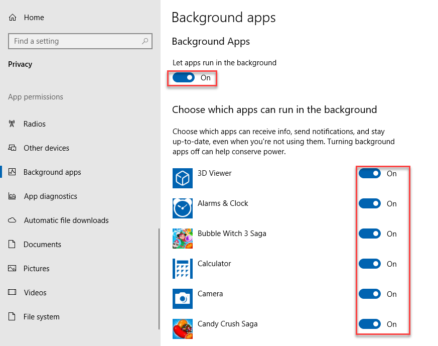, How to Stop Windows 10 Apps from Running in the Background