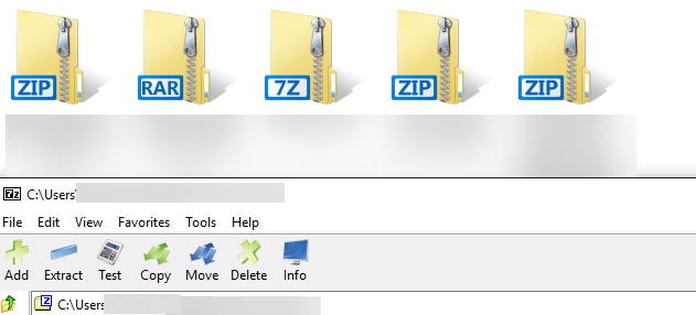 How to replace Ugly 7-Zip Icons in Windows 10 with good ...