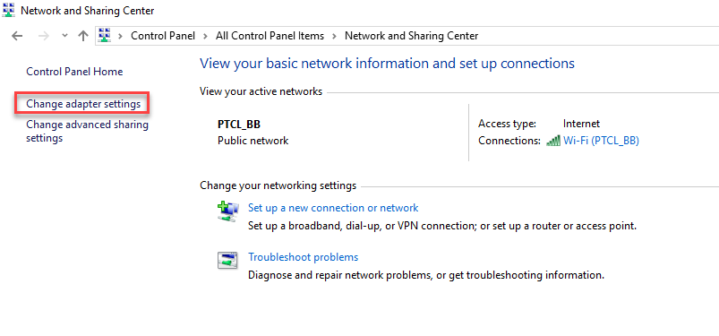 , How to configure a Static IP address in Windows 10
