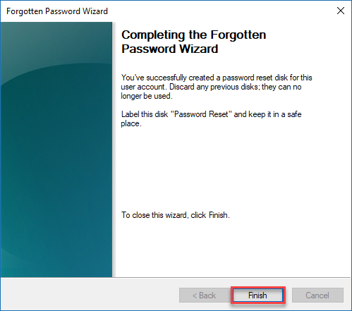, How to create and use a Windows 10 Password Reset Disk or USB