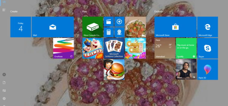 How to activate a Windows 8 Style Start Screen in Windows 10