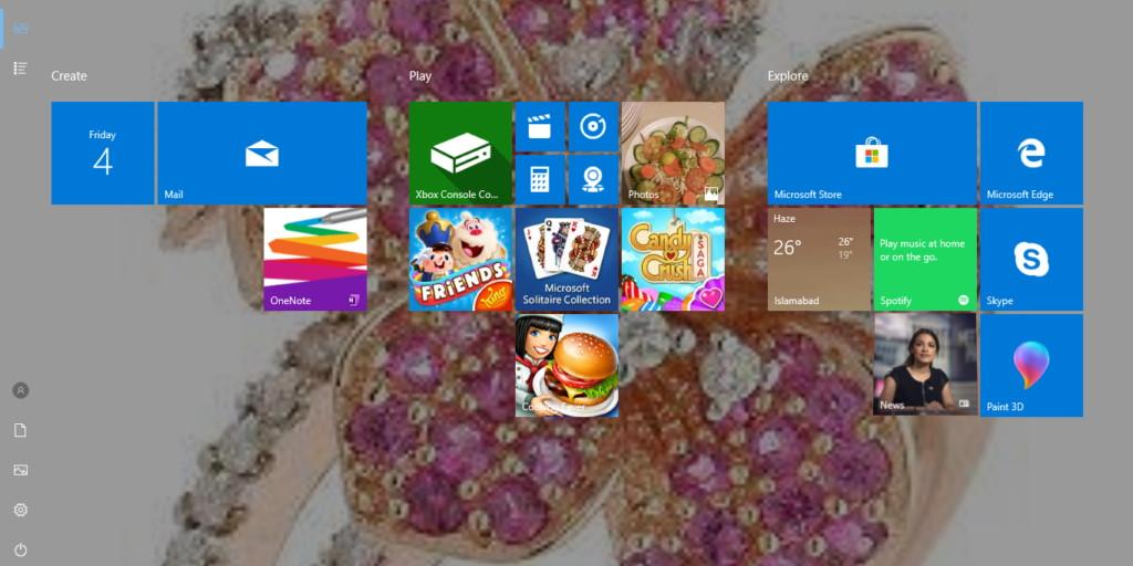 Windows Full Start Screen