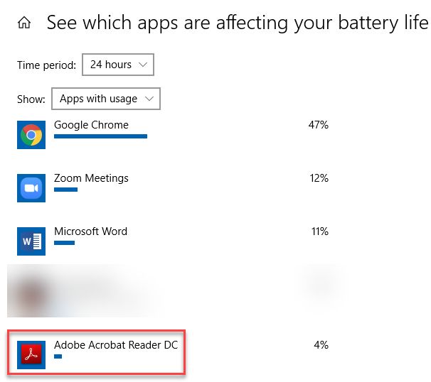 Choose app