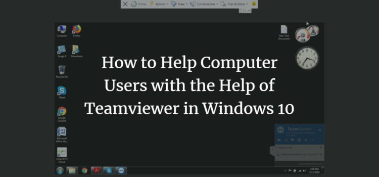 Help Friends with Windows problems