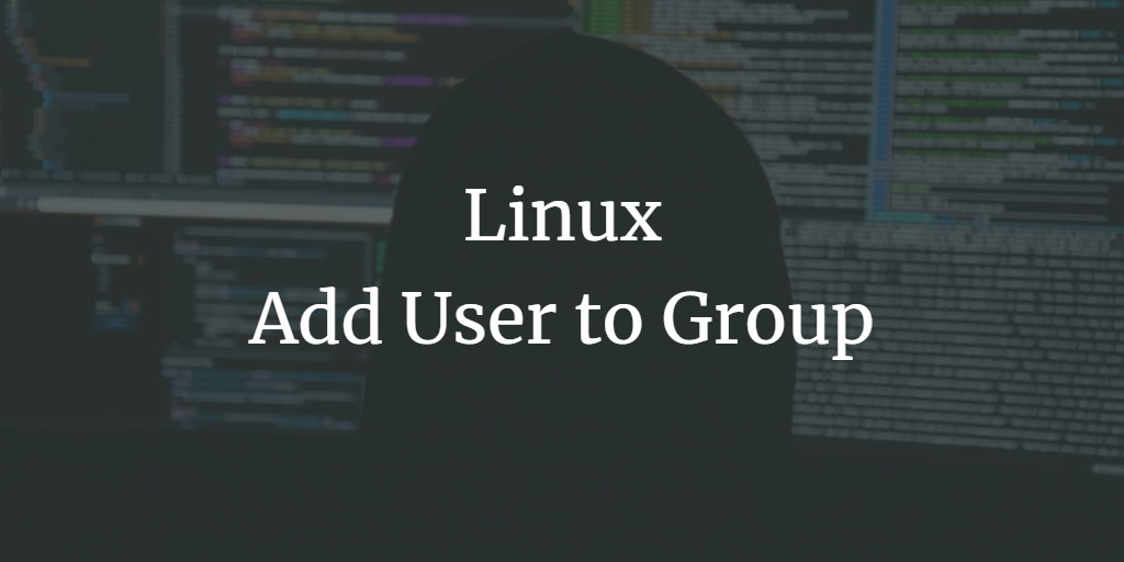 Add User to Group on Linux Command Line