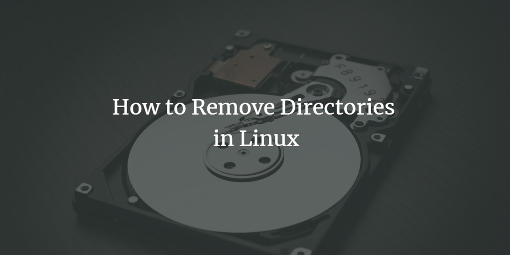 Remove Directory on Linux