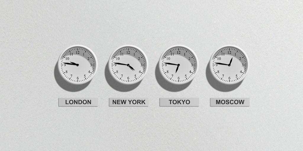 Multi Time-Zone Clock