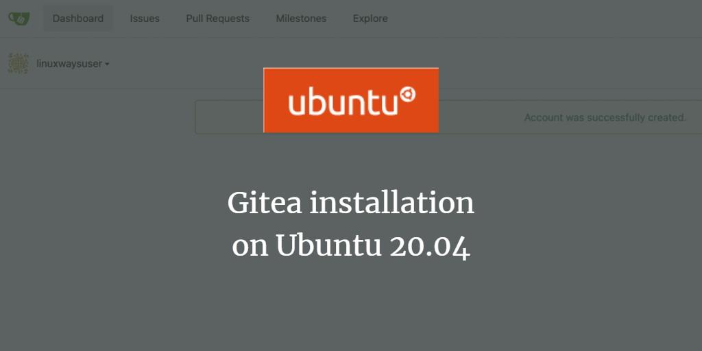 Gitea Service on Ubuntu