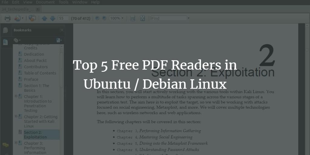 Ubuntu PDF Reader