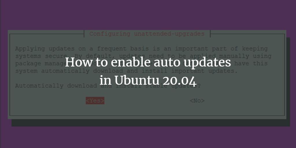 Ubuntu Auto Update