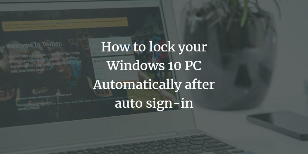 Lock Windows