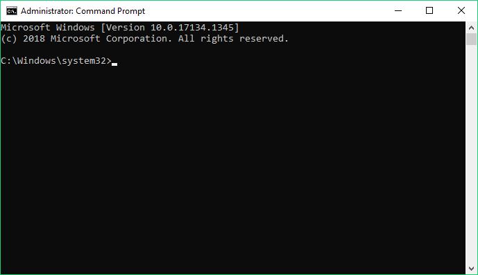 Windows admin console