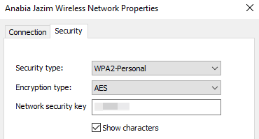 Display WiFi Password