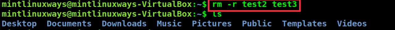 Delete multiple directories